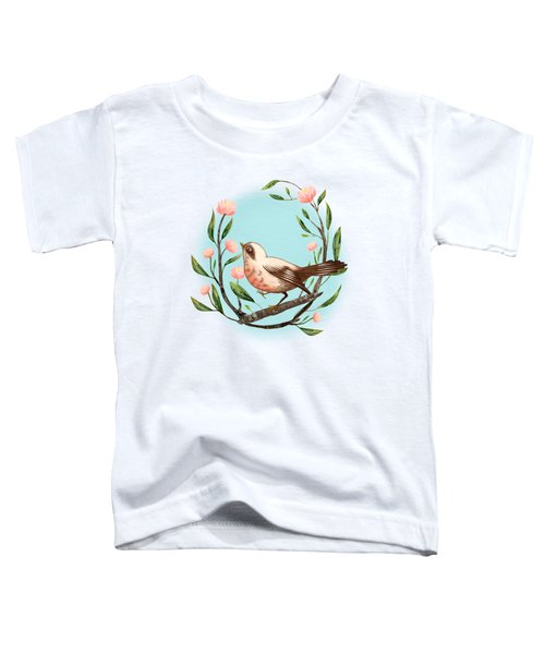 Spring Is Forever In My Heart Art Print Toddler T-Shirt