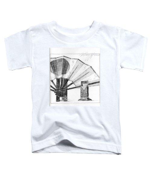 Spirit Of Japan. Fan And Matchbox Toddler T-Shirt