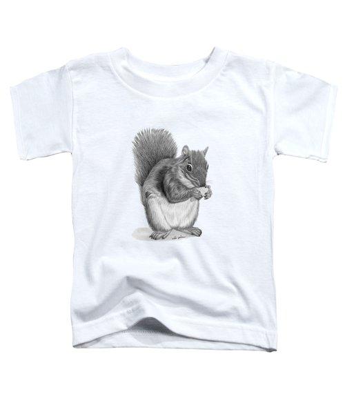 Squirrel #2 Toddler T-Shirt by Rita Palmer