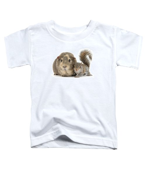Squirrel And Guinea Toddler T-Shirt