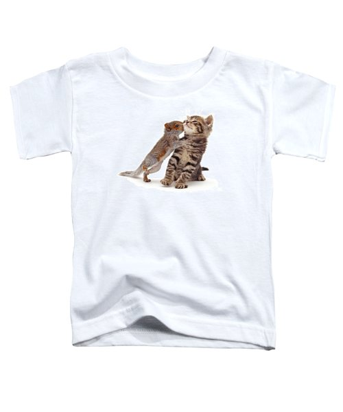 Squirrel Kiss Toddler T-Shirt