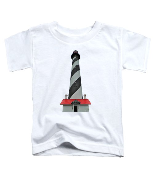 St Augustine Lighthouse Transparent For T Shirts Toddler T-Shirt