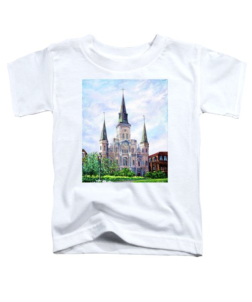 St. Louis Cathedral Toddler T-Shirt