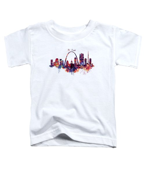 St Louis Skyline Toddler T-Shirt