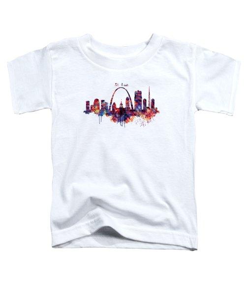 St Louis Skyline Toddler T-Shirt