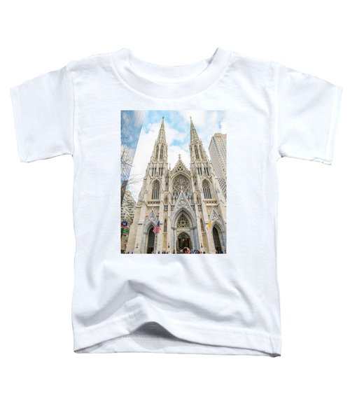 St. Patrick Cathedral In New York Toddler T-Shirt