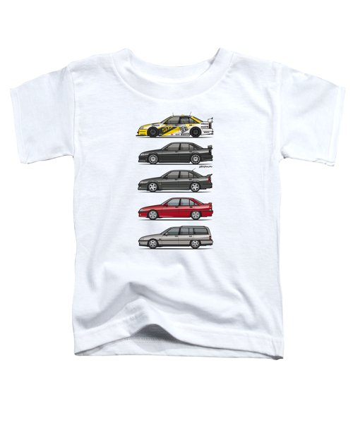 Stack Of Opel Omegas Vauxhall Carlton A Toddler T-Shirt