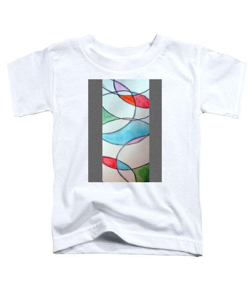 Stain Glass Toddler T-Shirt