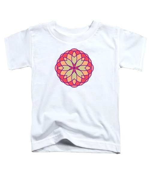 Stained Glass Toddler T-Shirt by Methune Hively
