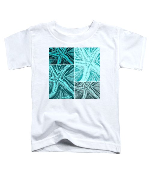 Starfish Pop Art Toddler T-Shirt