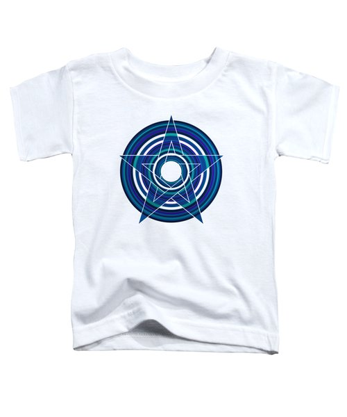Star Marine Over Concentric Circles Toddler T-Shirt