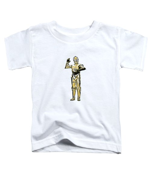 Star Wars C-3po Droid Tee Toddler T-Shirt