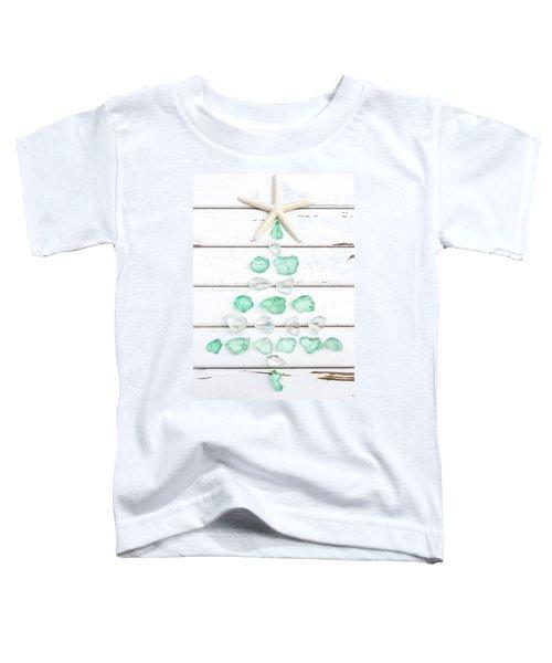 Starfish Christmas Tree Toddler T-Shirt