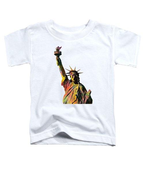 Statue Of Liberty Toddler T-Shirt