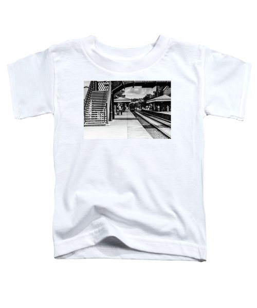 Steam Train In The Station Toddler T-Shirt