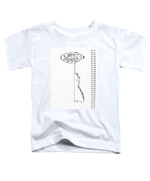 Steps To The Clouds Toddler T-Shirt