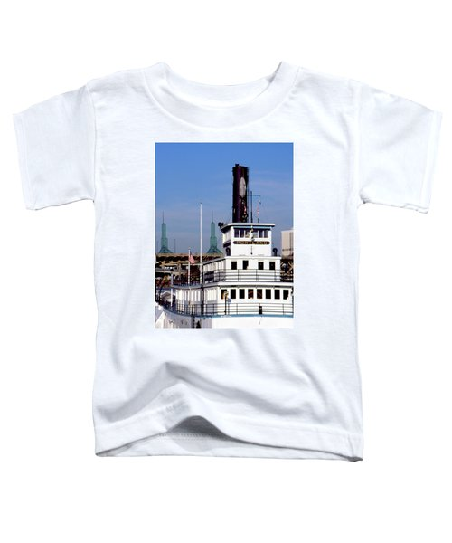 Sternwheeler, Portland Or  Toddler T-Shirt