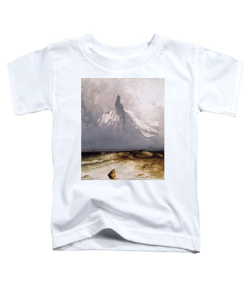 Stetind In Fog Toddler T-Shirt