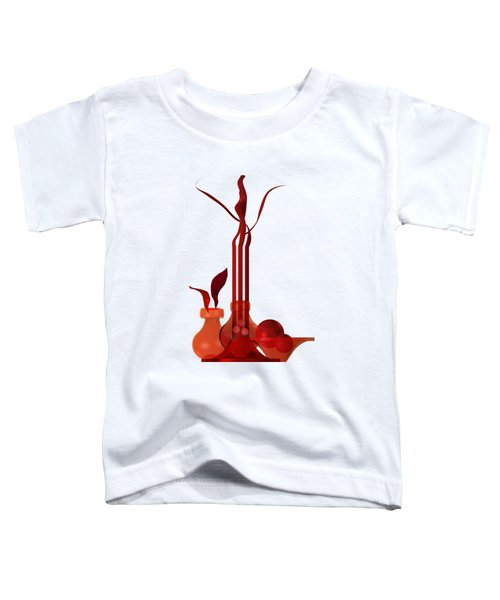 Still Life In Red Toddler T-Shirt