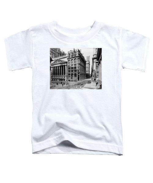 Stock Exchange, C1908 Toddler T-Shirt