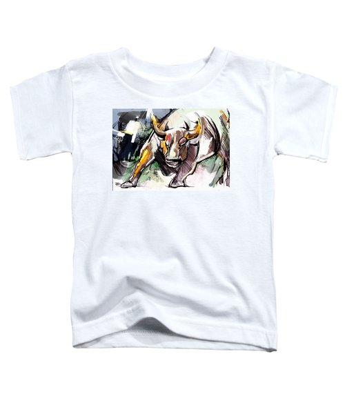 Stock Market Bull Toddler T-Shirt