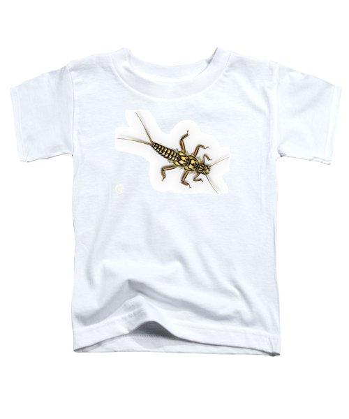 Stonefly Larva Nymph Plecoptera Perla Marginata - Steinflue -  Toddler T-Shirt