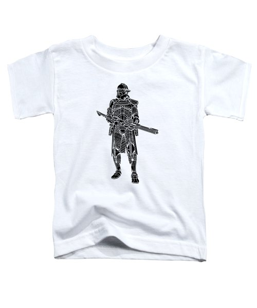Stormtrooper Samurai - Star Wars Art - Black Toddler T-Shirt