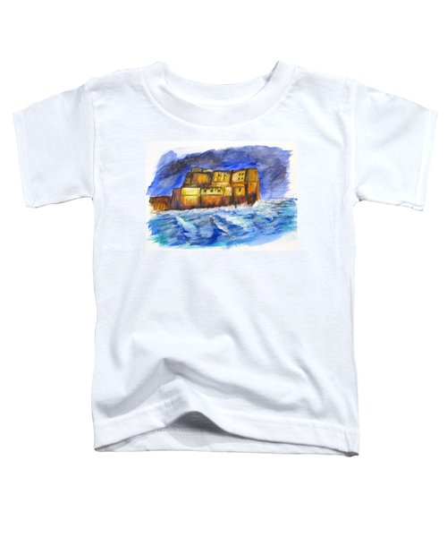 Stormy Castle Dell'ovo, Napoli Toddler T-Shirt
