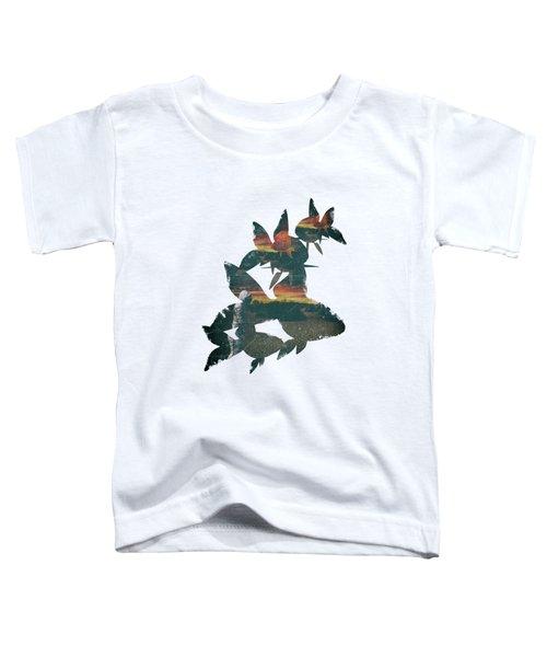 Strange Encounter Toddler T-Shirt by Katherine Smit