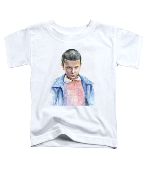 Stranger Things Eleven Portrait Toddler T-Shirt