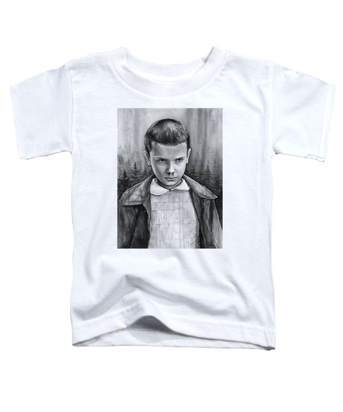 Stranger Things Fan Art Eleven Toddler T-Shirt
