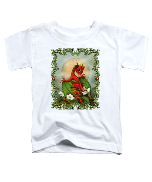 Strawberry Dragon T-shirt Toddler T-Shirt