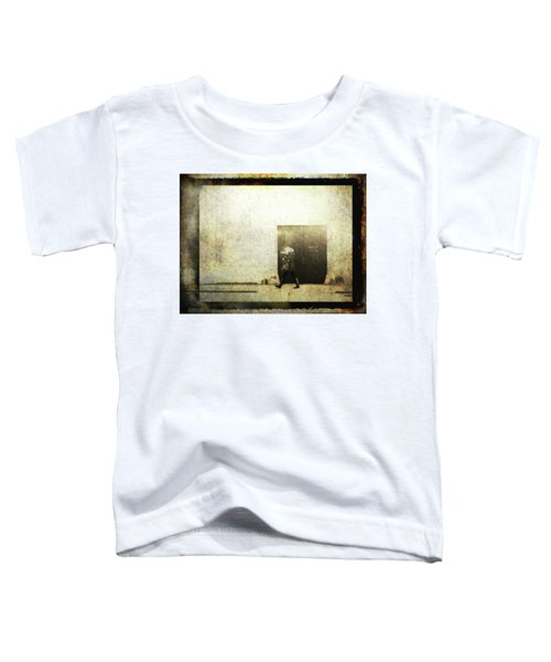 Street Photography - Closed Door Toddler T-Shirt by Siegfried Ferlin