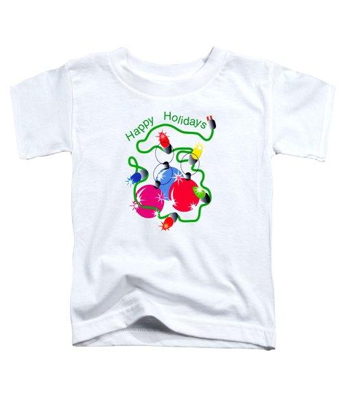 String Of Lights Toddler T-Shirt