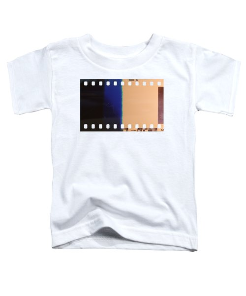 Strip Of The Poorly Exposed And Developed Celluloid Film Toddler T-Shirt