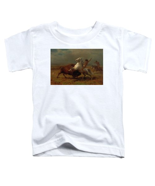 Study For The Last Of The Buffalo Toddler T-Shirt