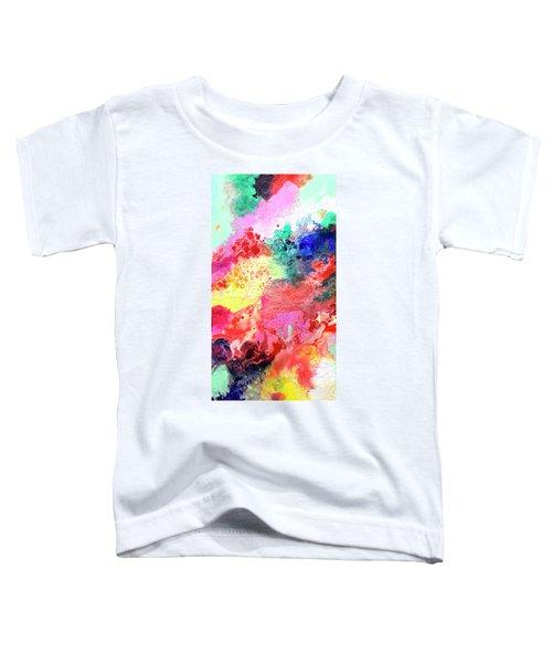 Subtle Vibrations, Canvas Four Of Five Toddler T-Shirt