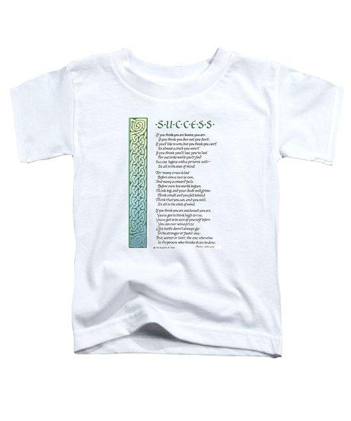 Success Toddler T-Shirt