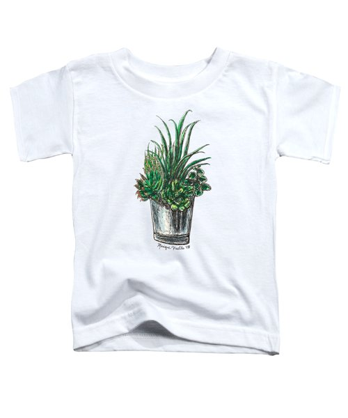 Succulents Toddler T-Shirt