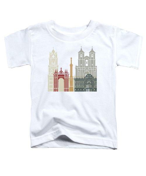 Sucre Skyline Poster Toddler T-Shirt