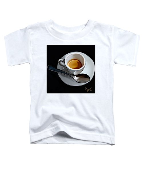 Toddler T-Shirt featuring the digital art Sugar And Cream by Gerry Morgan