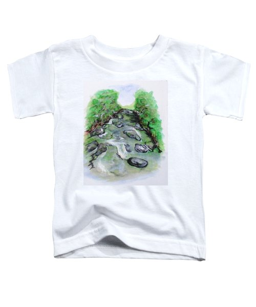 Sugar Creek, Boyhood Memory Toddler T-Shirt