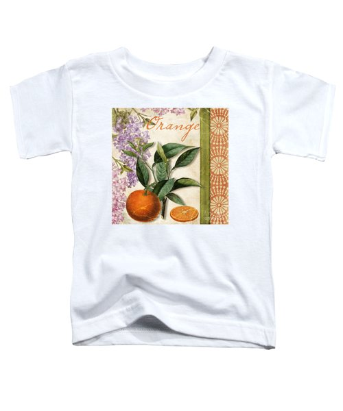 Summer Citrus Orange Toddler T-Shirt by Mindy Sommers