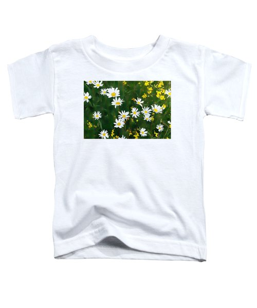 Summer Daisies Toddler T-Shirt