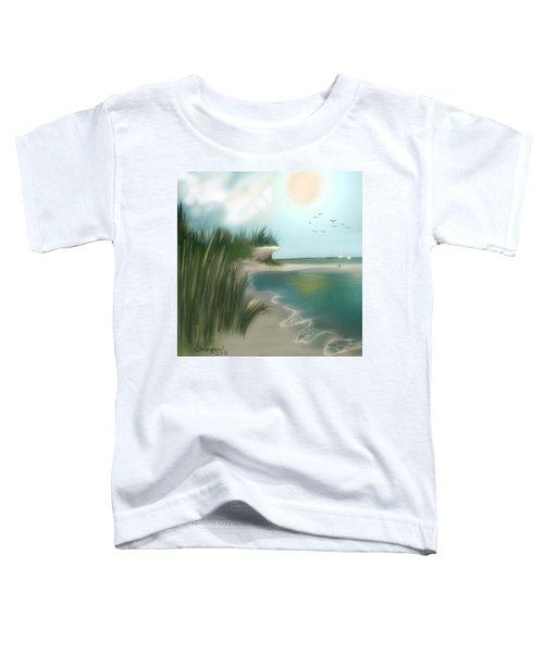 Toddler T-Shirt featuring the digital art Summer Memory by Gerry Morgan