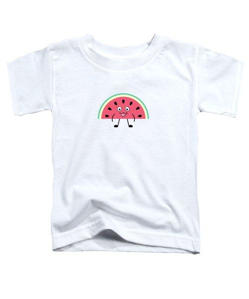 Summer Watermelons Toddler T-Shirt by Alina Krysko