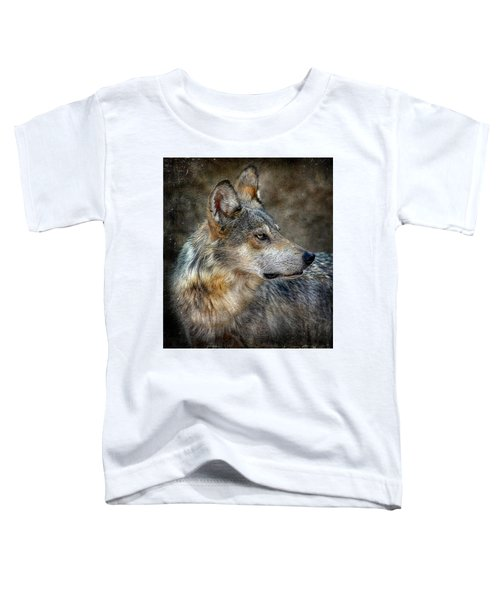 Summertime Coated Wolf Toddler T-Shirt