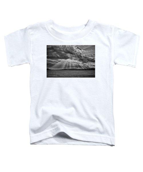 Sun Rays Over Vann's Valley Toddler T-Shirt