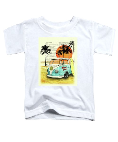Sun Sea Beach And Fun Toddler T-Shirt