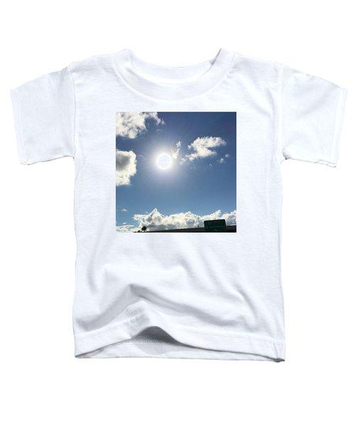 Sun Sky Angel Toddler T-Shirt